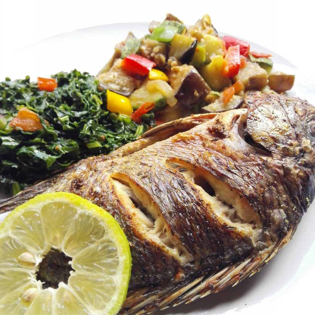 zambian food tilapia fish