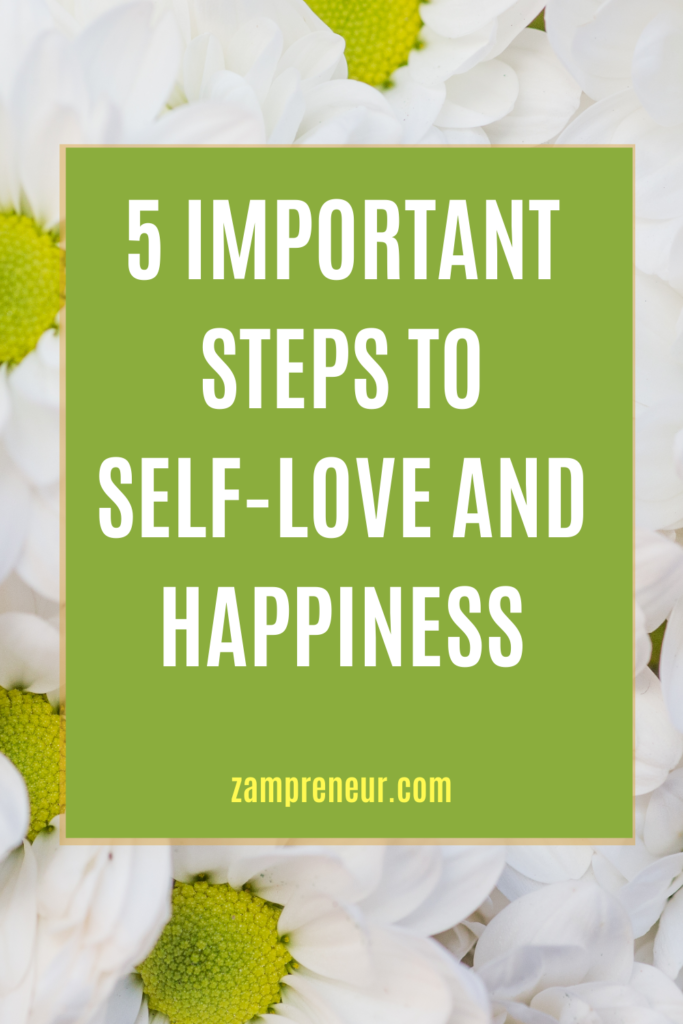 Self love and happiness